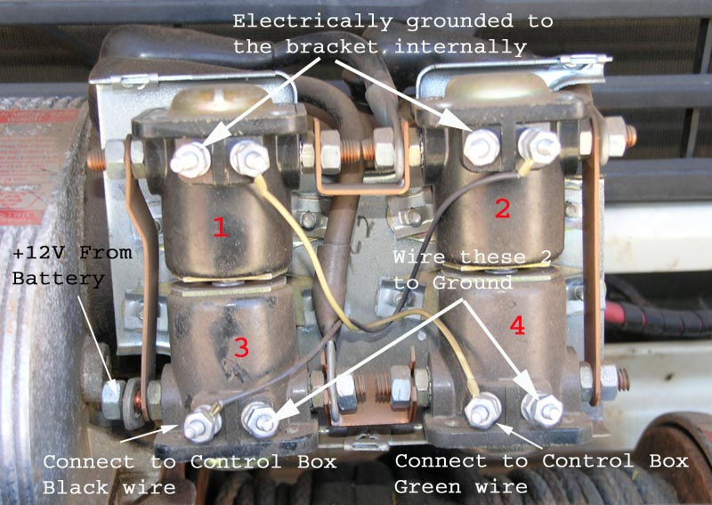 Mq 24v to 12v retrofit once you have added in the new ground wires for the bottom two solenoids and moved the black and green control box wires to the new positions what you have asfbconference2016 Images